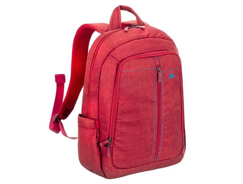 """Τσάντα Laptop πλάτης Rivacase Canvas 15.6"""" Red computer   αξεσουάρ laptop   θήκες τσάντες"""