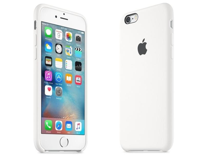 Apple Silicone Case iPhone 6 / 6s White MKY12 τηλεφωνία   αξεσουάρ   θήκες κινητών
