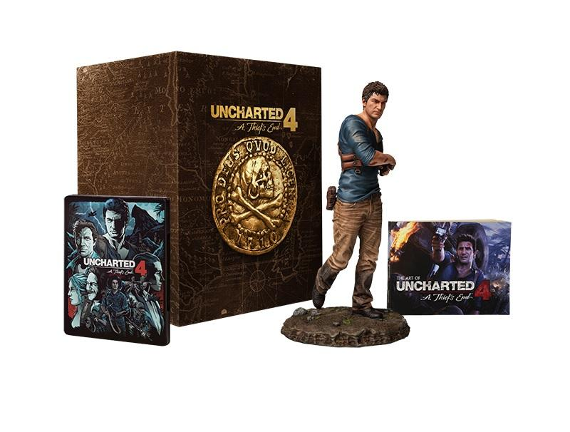 Game Uncharted 4: Thieves End - Libertalia Collectors Edition PS gaming   games