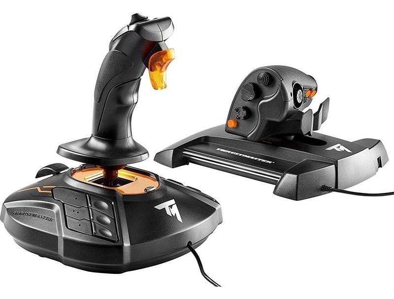 Joystick Thrustmaster T16000M FCS Hotas with Throttle PC gaming   gaming accessories   χειριστήρια