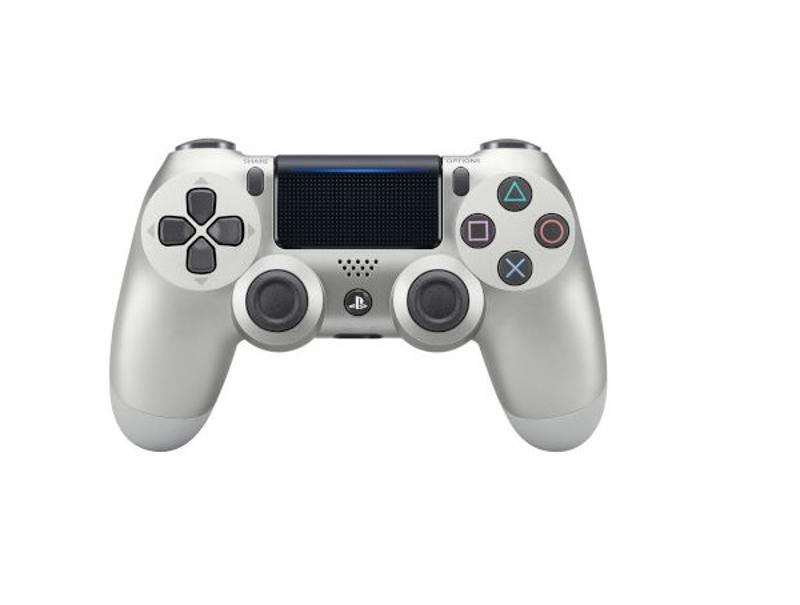 Sony Playstation DualShock 4 Controller Silver v2 gaming   gaming accessories   χειριστήρια