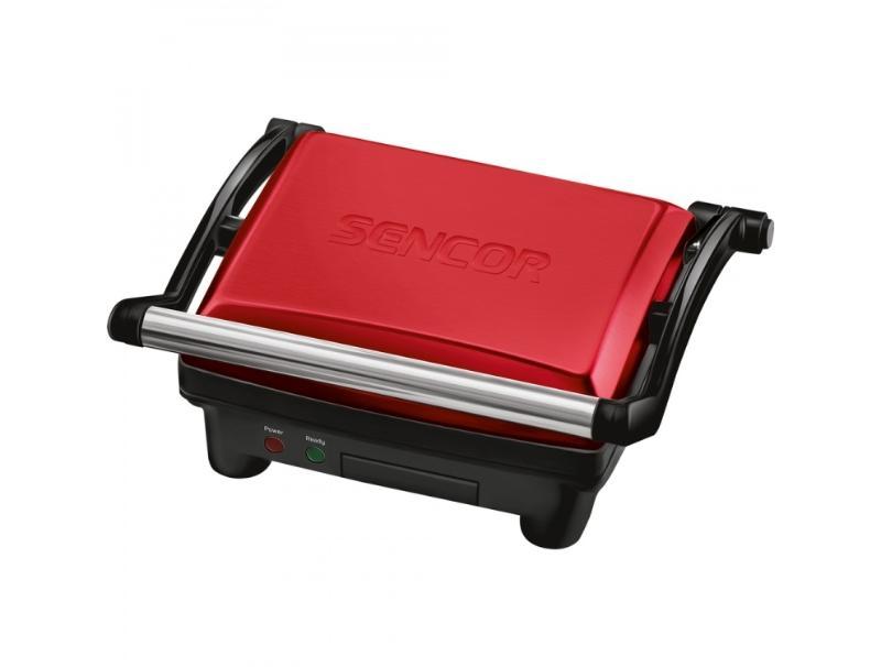 Ψηστιέρα - Grill Sencor SBG3052 Red οικιακές συσκευές   μικροσυσκευές   τοστιέρες ψηστιέρες