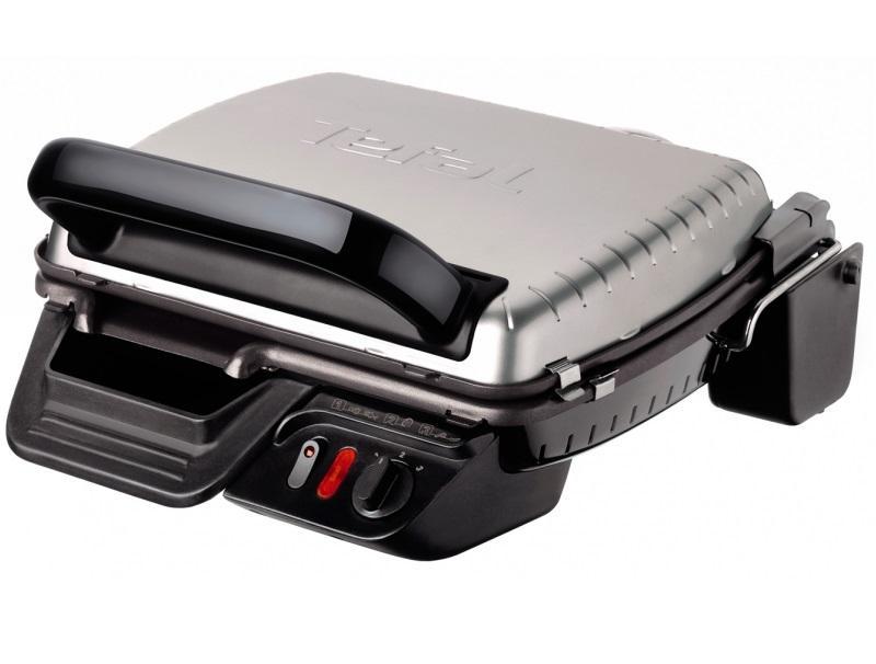 Ψηστιέρα - Grill Tefal GC305012 Μαύρο- Ασημί οικιακές συσκευές   μικροσυσκευές   τοστιέρες ψηστιέρες