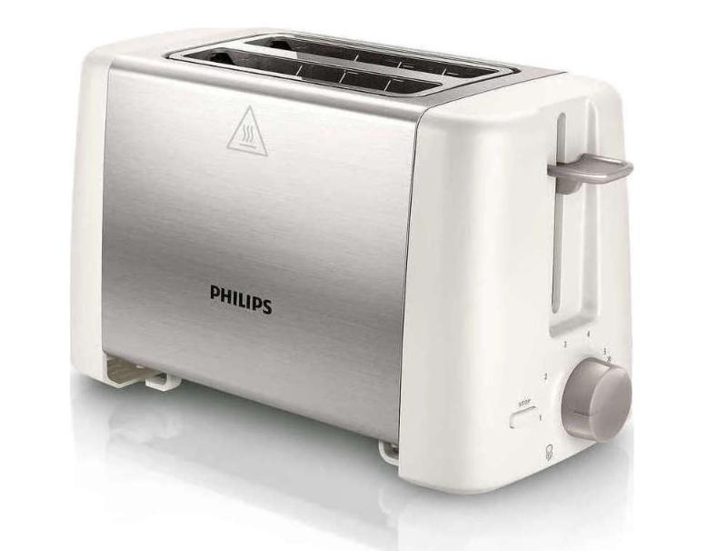 Φρυγανιέρα Philips HD4825/00 White/inox οικιακές συσκευές   μικροσυσκευές   φρυγανιέρες