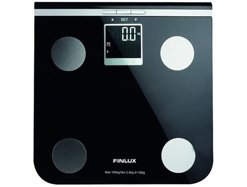 Ηλεκτρονική Finlux Ζυγαριά FBS-71250 Black οικιακές συσκευές   προσωπική φροντίδα   ψηφιακές ζυγαριές