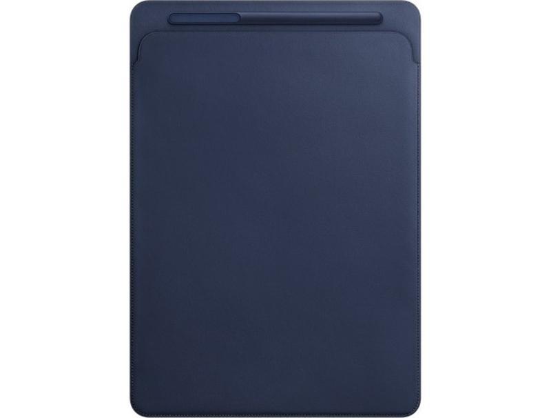 Apple Leather Sleeve iPad Pro 12.9 Midnight Blue MQ0T2 computer   περιφερειακά   θήκες tablet