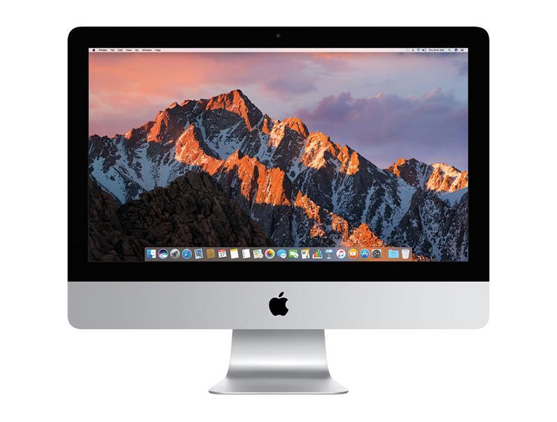 "Apple iMac MNE02 21.5"" 4K Retina i5-3.4GHz,8GB,1TB Fusion,Radeon Pro 560 4GB,Mac computer   υπολογιστές   all in one"