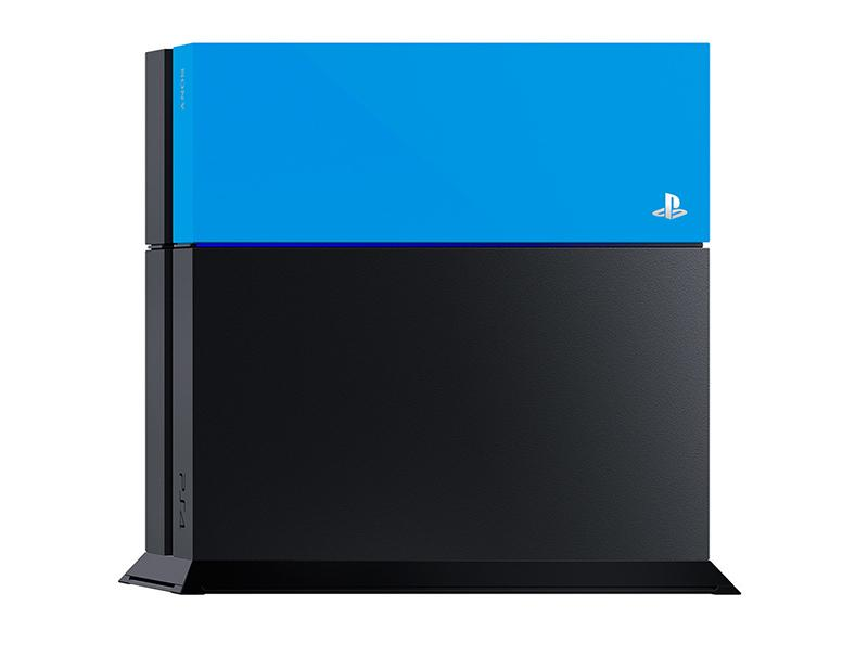 Sony PlayStation 4 Custom Faceplate Blue gaming   gaming accessories   διάφορα αξεσουάρ gaming