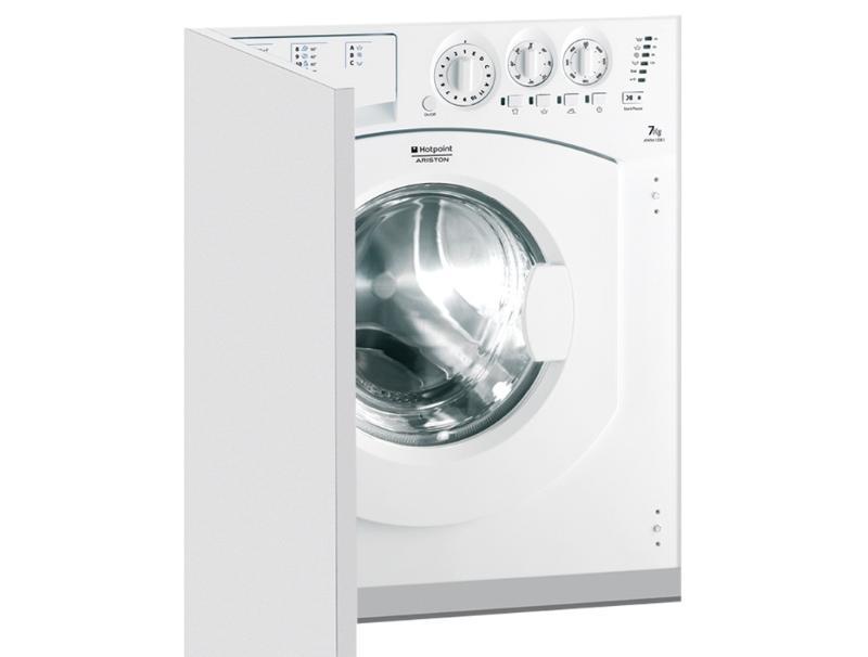 Πλυντήριο Ρούχων Εντοιχιζόμενο Hotpoint-Ariston AWM 1081 7kg 1000rpm οικιακές συσκευές   λευκές συσκευές   πλυντήρια ρούχων
