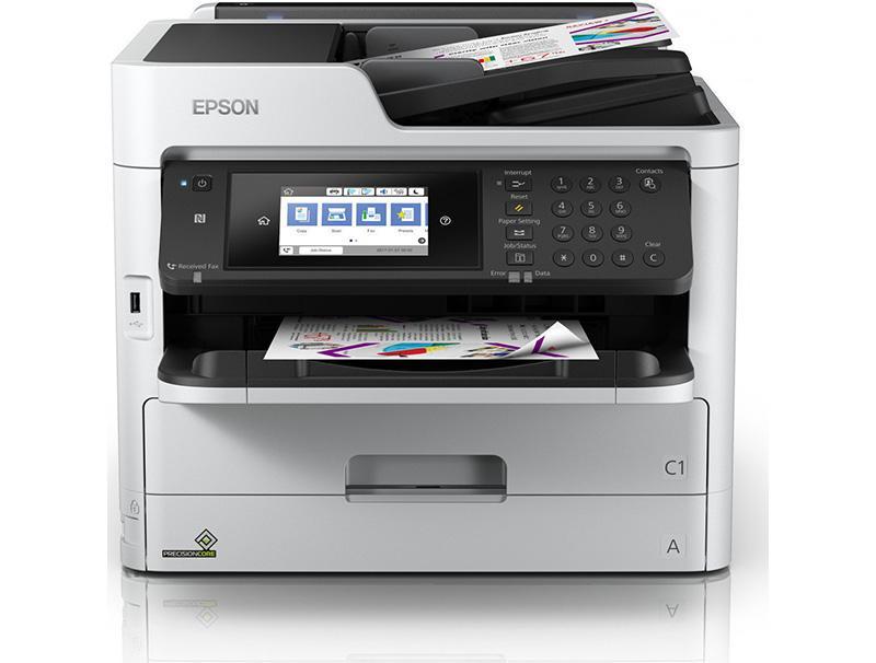 Πολυμηχ/μα Epson WorkForce Pro WF-C5790DWF Wi-Fi inkjet colour computer   περιφερειακά   εκτυπωτές πολυμηχανήματα