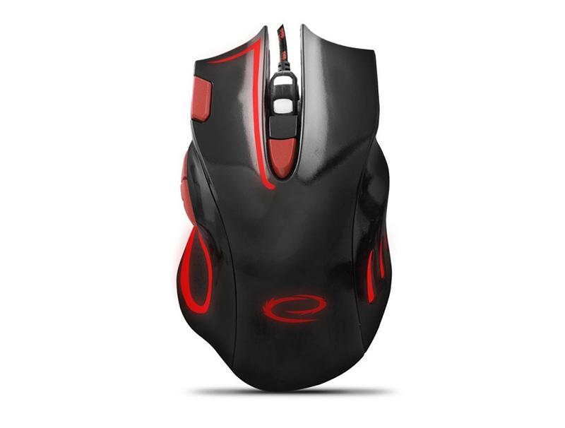 Mouse Esperanza MX401 7D hawk red wired computer   περιφερειακά   ποντίκια