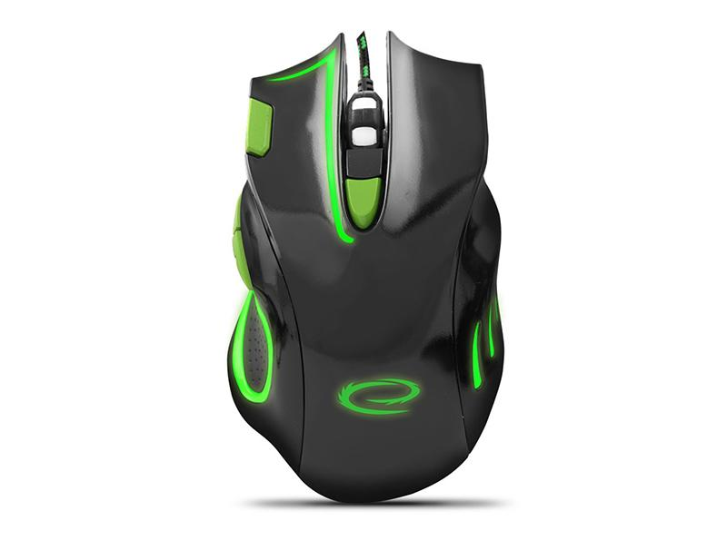 Mouse Esperanza MX401 7D hawk green wired computer   περιφερειακά   ποντίκια