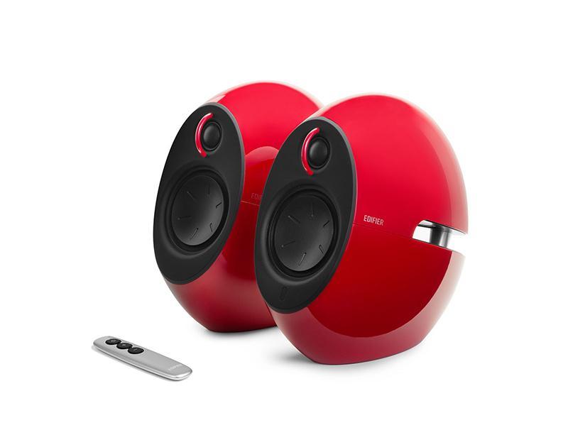 Speakers Edifier Luna Eclipse E25 Bluetooth Red computer   περιφερειακά   ηχεία υπολογιστών