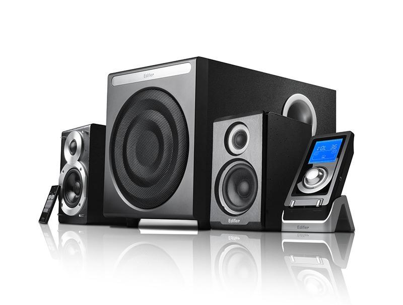 Speakers Edifier S530D 2.1 Black computer   περιφερειακά   ηχεία υπολογιστών