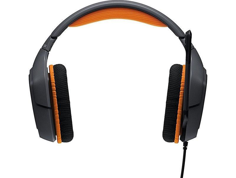 Gaming Headset Logitech 981-0006 G231 Prodigy Wired Black/Orange gaming   gaming accessories   gaming headsets