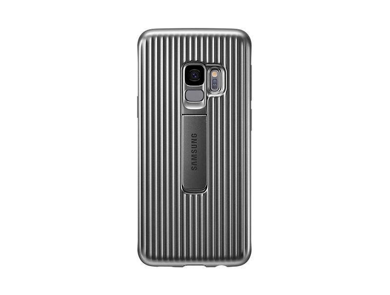 Θήκη Samsung Protective Standing Cover EF-RG960CSEGWW Silver για S9 G960 τηλεφωνία   αξεσουάρ   θήκες κινητών