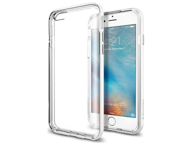 Θήκη Spigen Neo Hybrid EX Shimmery White iPhone 6/6s SGP11626 τηλεφωνία   αξεσουάρ   θήκες κινητών