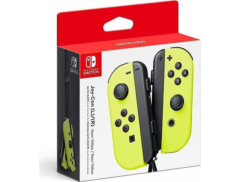 Controller Nintendo Joy-Con pair Neon Yellow gaming   gaming accessories   χειριστήρια