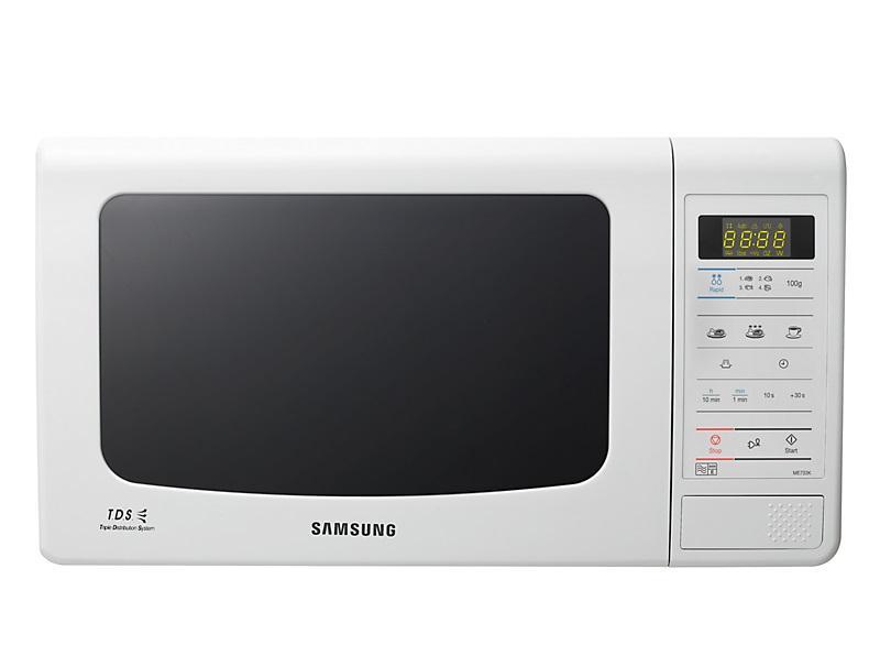 Φούρνος Μικροκυμάτων Ελεύθερος Samsung ME733K 20lt White οικιακές συσκευές   λευκές συσκευές   φούρνοι μικροκυμάτων