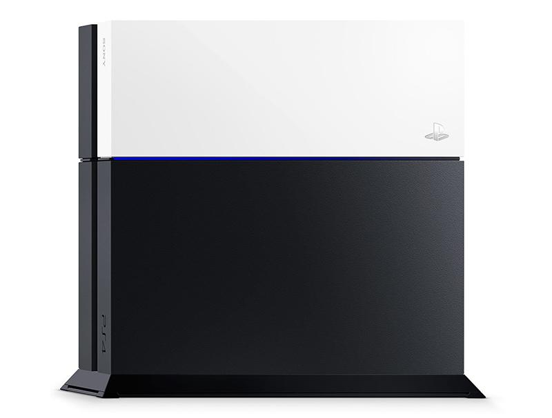 Sony PlayStation 4 Custom Faceplate White gaming   gaming accessories   διάφορα αξεσουάρ gaming