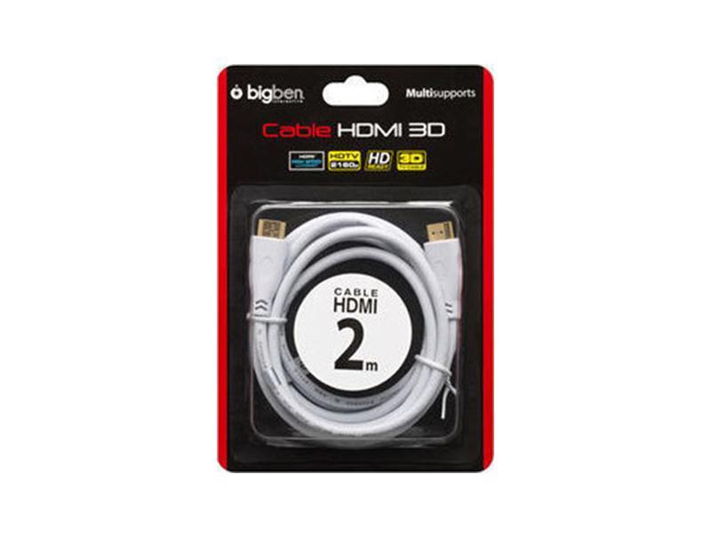 Καλώδιο HDMI 1.4 Bigben PS3 /PS4 2m 3D compatible gaming   gaming accessories   διάφορα αξεσουάρ gaming