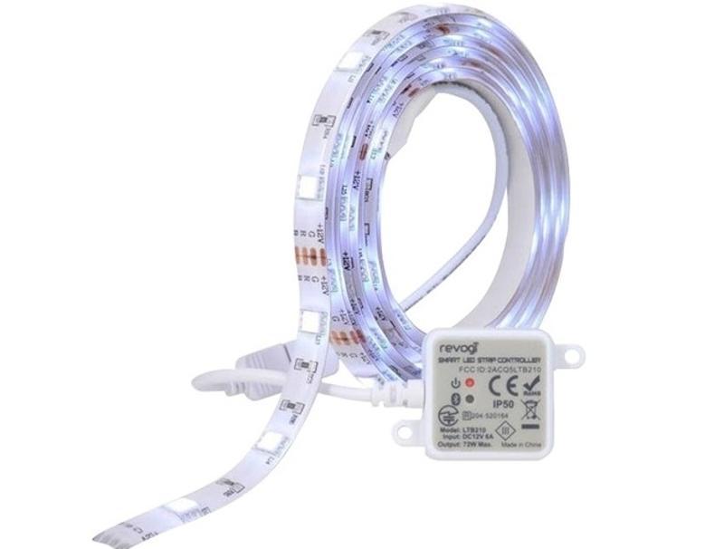 Revogi BLE RGB LED Strip Controller + Light Strip+Power Adapter computer   έξυπνο σπίτι