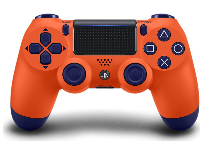 Sony Playstation DualShock 4 Controller Sunset Orange gaming   gaming accessories   χειριστήρια