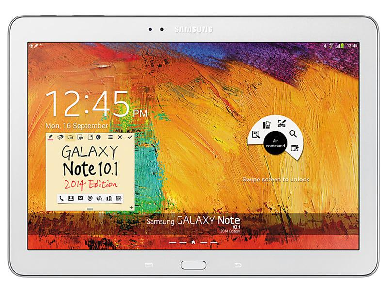 Tablet Samsung 10.1 Galaxy Note 2014 Edition P605 4G White computer   tablet