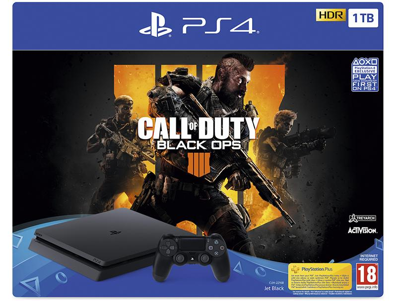 Console Sony PS4 1TB F CHASSIS + Call Of Duty:Black Ops 4 gaming   κονσόλες