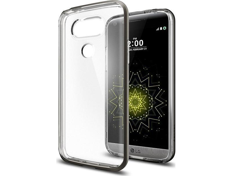 Θήκη Spigen Neo Hybrid Crystal για LG G5 Gunmetal A18CS20135 τηλεφωνία   αξεσουάρ   θήκες κινητών