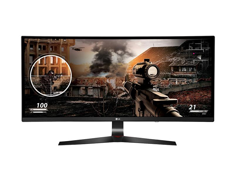 "Gaming Monitor LG 34UC79G-B 34"" IPS 21:9 curved computer   περιφερειακά   monitor"