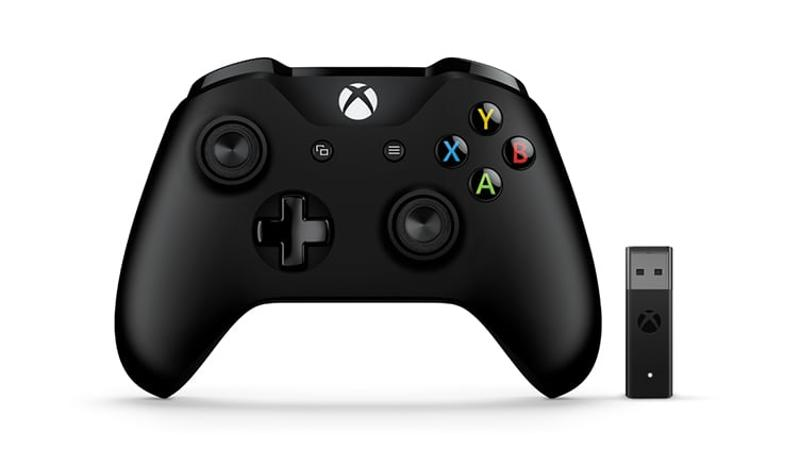Xbox One Controller + Wireless Adapter for Windows 10 gaming   gaming accessories   χειριστήρια
