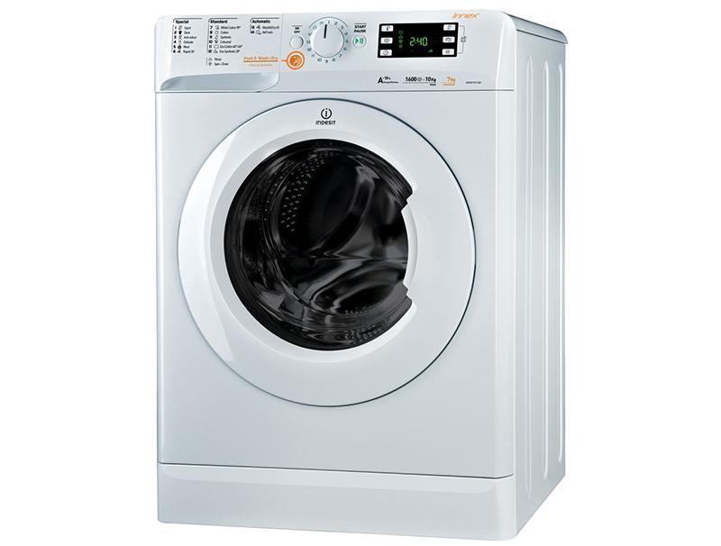 Πλυντήριο-Στεγνωτήριο Indesit XWDE 861480 X W 8kg πλυση 6kg στεγνωμα 1400rpm οικιακές συσκευές   λευκές συσκευές   πλυντήρια στεγνωτήρια ρούχων