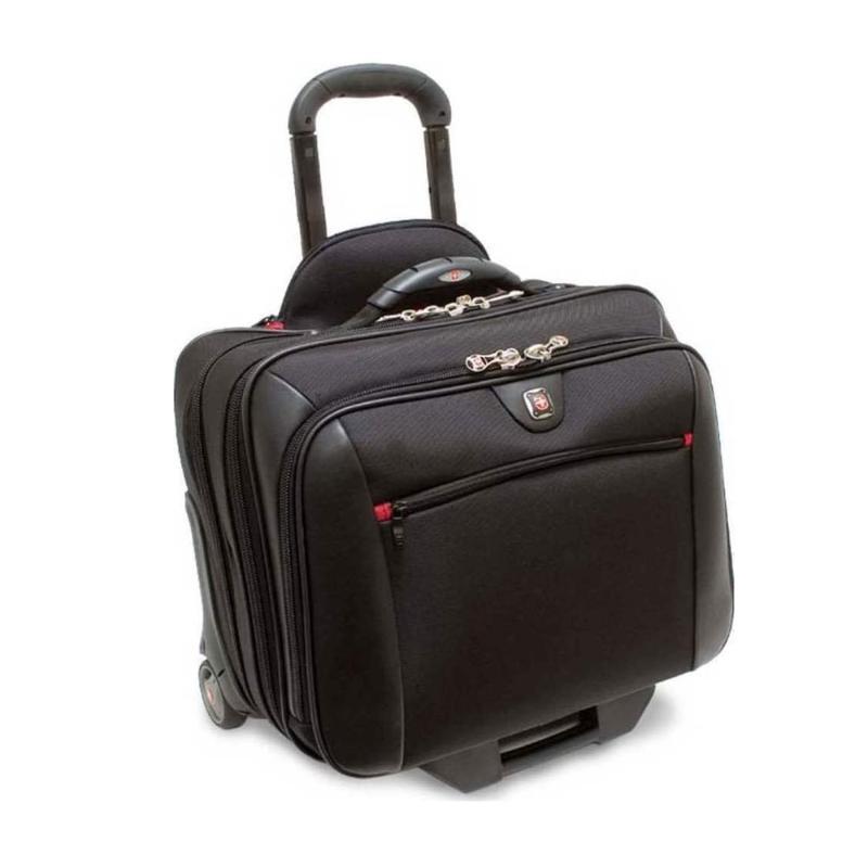 """Τσάντα λάπτοπ τροχύλατη Wenger Potomac Gusset 15.4"""" Black computer   αξεσουάρ laptop   θήκες τσάντες"""