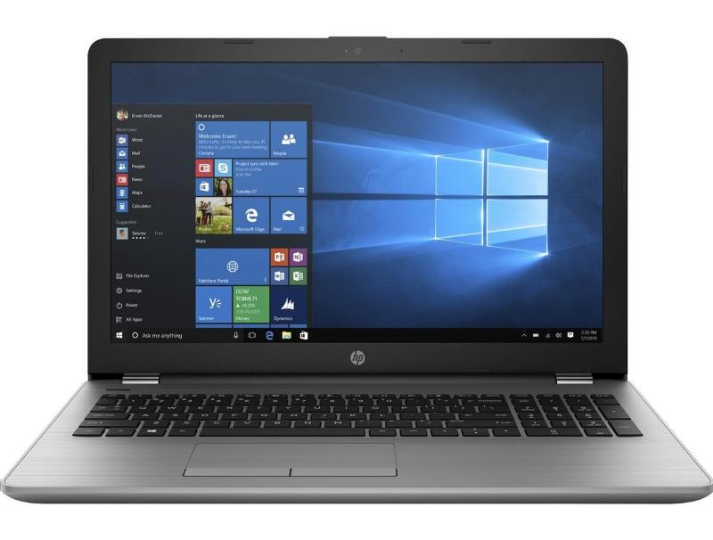 "Laptop HP 250 G6 15.6"" 1920x1080 i7-7500U,8GB,256GB,Intel HD 620,Win 10Pro,Silve computer   υπολογιστές   laptop"