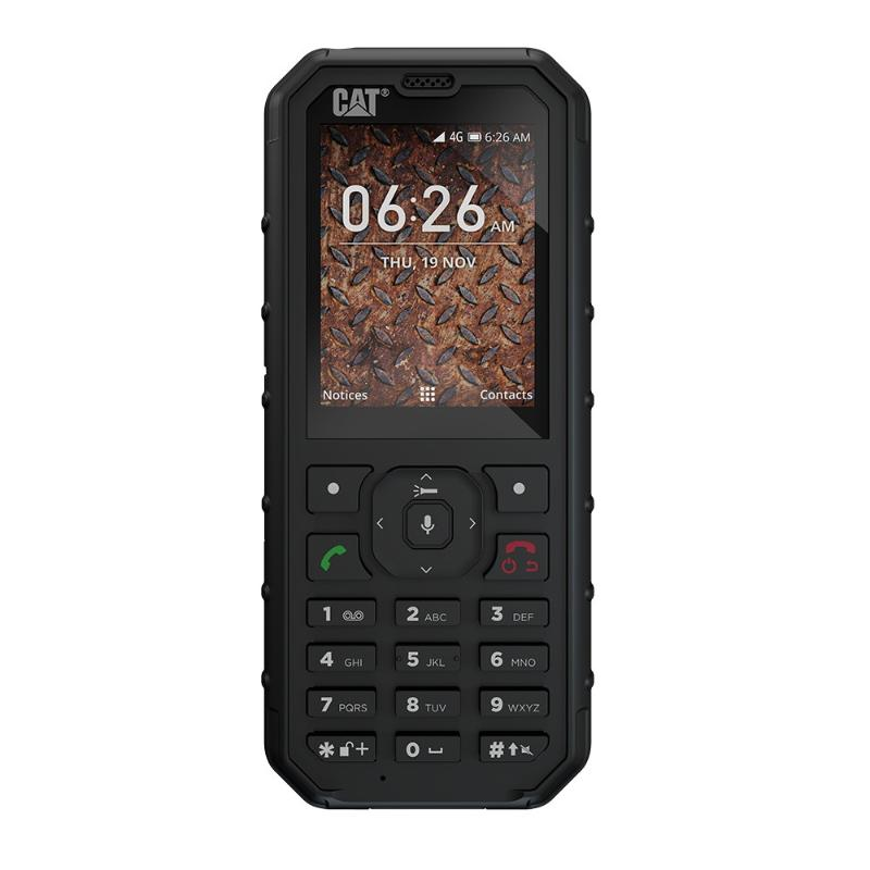 Caterpillar B35 4G Dual Sim Black GR τηλεφωνία   kινητή