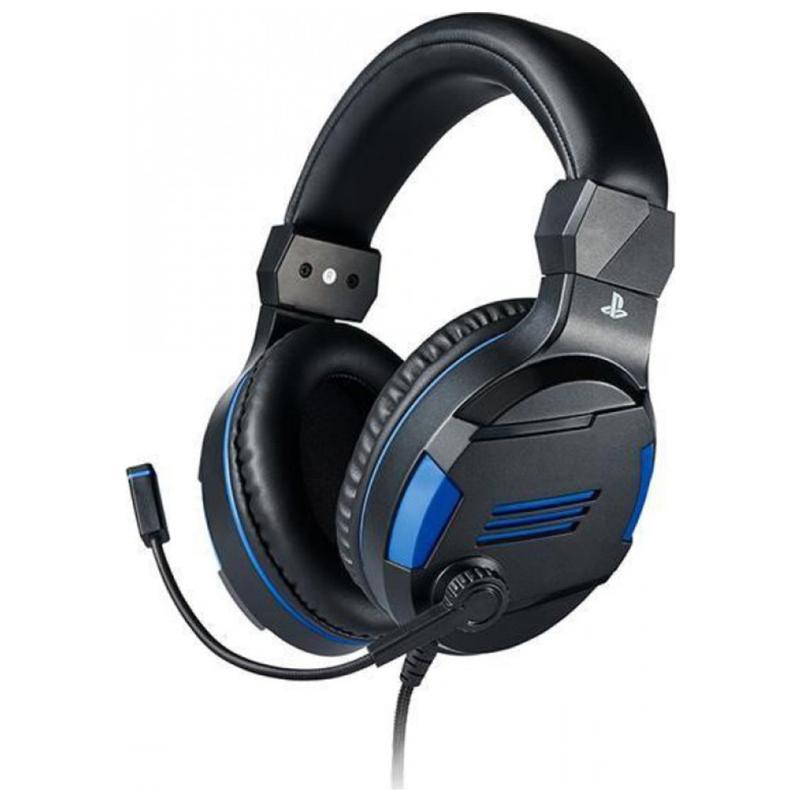 Gaming Headset Bigben Interactive V3 PS4 Official Black gaming   gaming accessories   gaming headsets