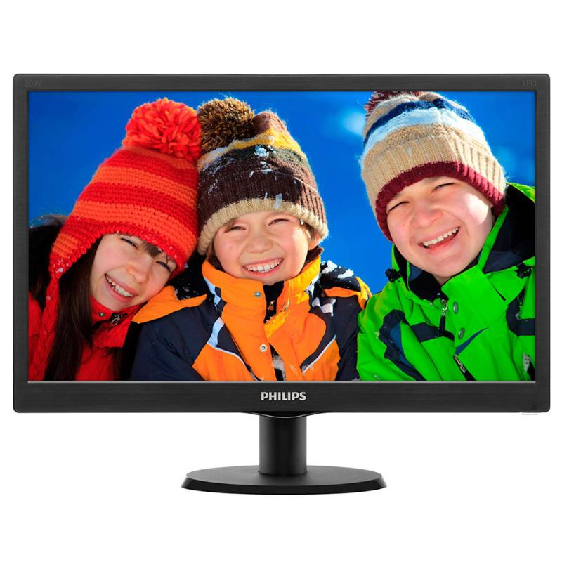 "Monitor Philips 203V5LSB26/10 19.5"" HD Led computer   περιφερειακά   monitor"