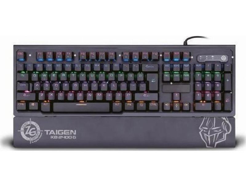 Gaming Keyboard Zeroground KB-2400G TAIGEN v2.0 Mechanical wired computer   περιφερειακά   πληκτρολόγια