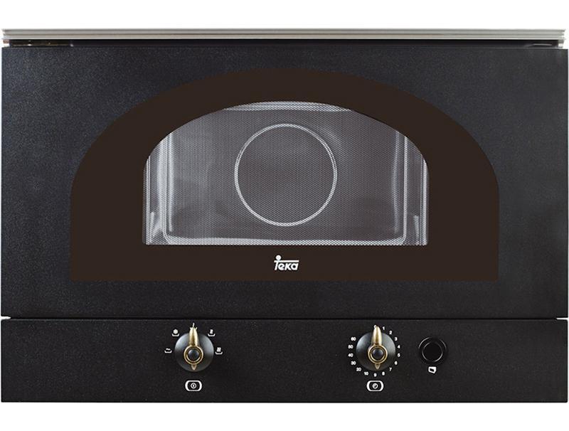 Φούρνος Μικροκυμάτων Εντοιχιζόμενος Teka MWR 22 BI ANTHRACITE Black οικιακές συσκευές   λευκές συσκευές   φούρνοι μικροκυμάτων