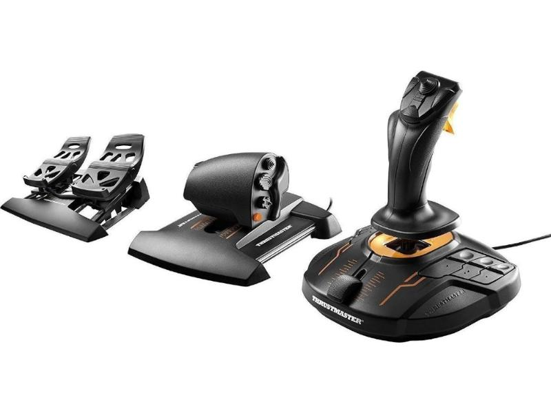 Joystick Thrustmaster T16000M FCS Flight Pack PC gaming   gaming accessories   χειριστήρια