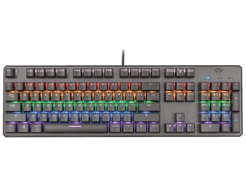 Gaming Keyboard Trust GXT865 Asta Mech RGB 22630